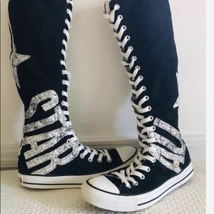 Converse Chuck Taylor XX HI Glitter Sneakers